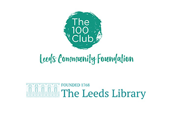 Leeds 100 Club Leeds Library logo