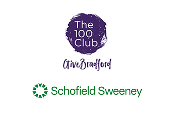 Bradford 100 Club Schofield Sweeney logo